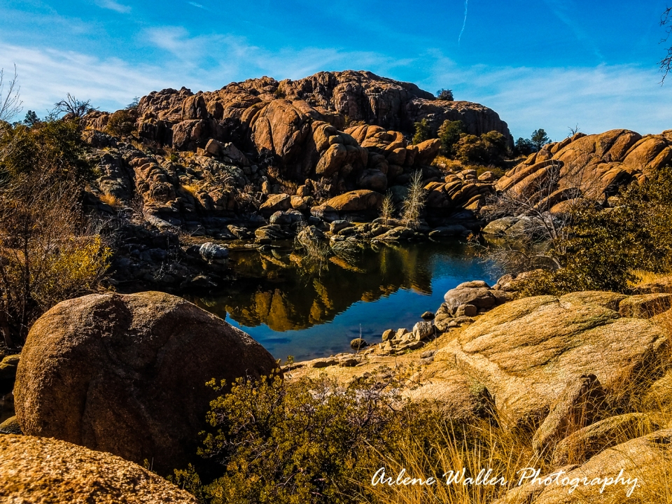 Granite Basin Lake Az.Prescott Area Arlene Waller Photography
